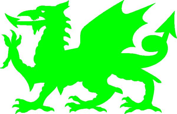 Welsh Green Dragon Clip Art at Clker.com - vector clip art ...