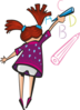 Cartoon Girl Clip Art