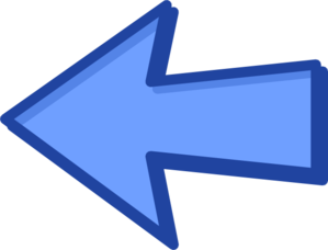 Blue Arrow Blue Left Clip Art