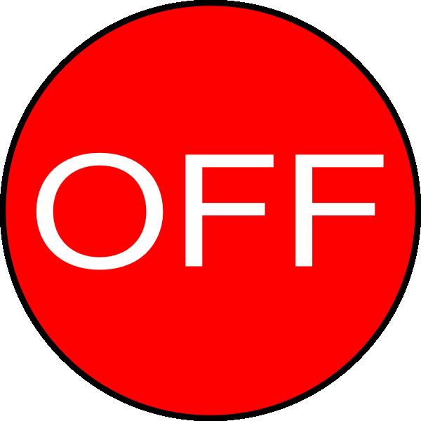 off button clip art at clker com vector clip art online royalty