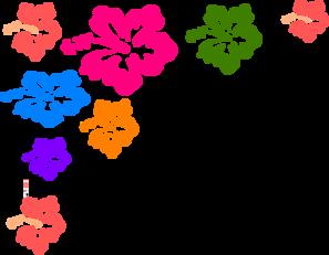 Hibiscus Flower Color Clip Art at Clker.com - vector clip art online ...