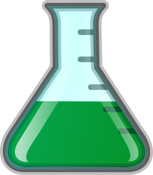clipart test tubes and beakers - photo #24