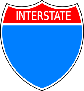 Interstate Clip Art