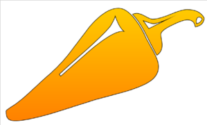 Orange Pepper Clip Art