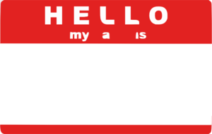 Hello My Name Is Sticker By Trexweb Clip Art