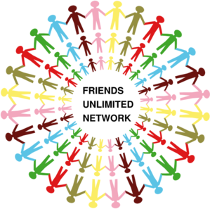 3 Circles People Holding Hands Multi Coloured Clip Art