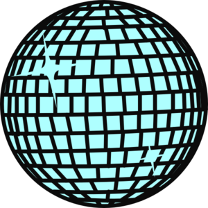 Snow Disco Ball Clip Art