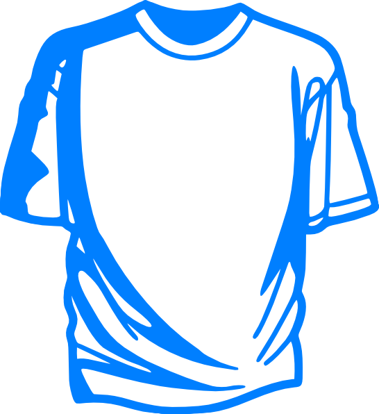 t shirt shape clipart - photo #45