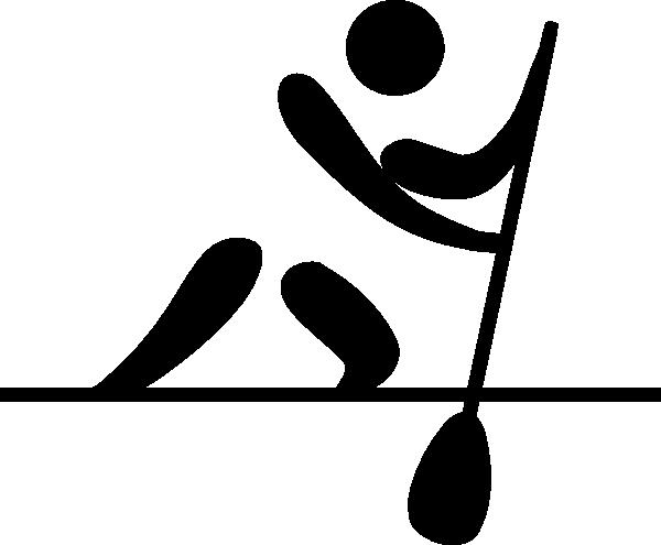 Olympic Canoe Sprint Logo Clip Art At Clker Com