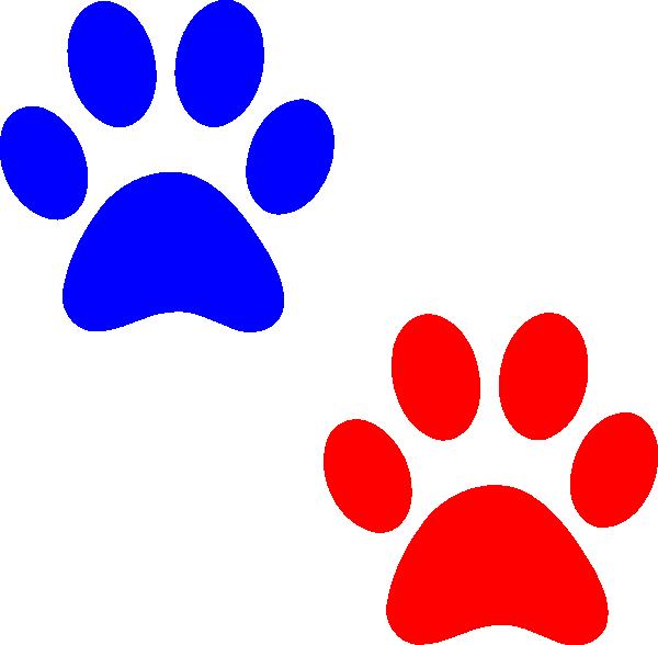 blue paw logo starts with b wwwpixsharkcom images