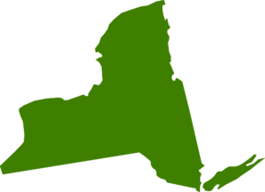 Green New York Clip Art