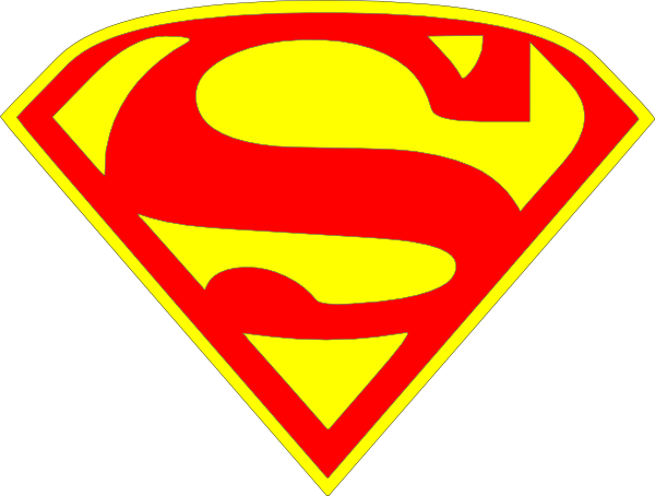 animated superman clipart - photo #42
