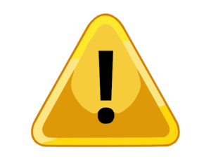 Yellow Warning Sign Clip Art