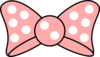 Minnie Bow Clip Art