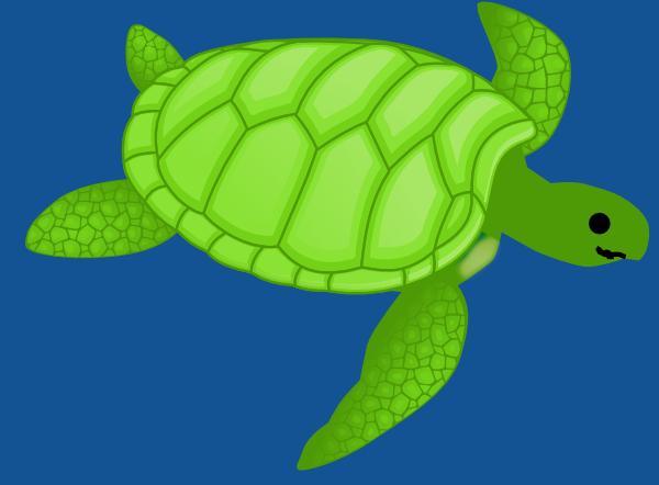 green turtle clip art - photo #50