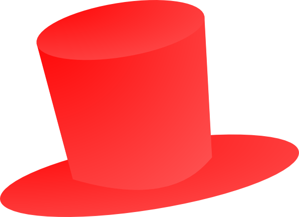 Red Top Hat Clip Art At Clker Com Vector Clip Art Online