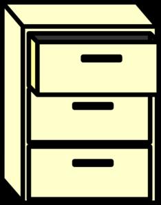 Filing Cabinet Clip Art at Clker.com - vector clip art online ...