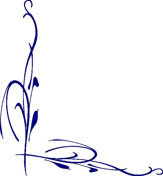 Blue Vine Clip Art at Clker.com - vector clip art online, royalty free ...