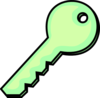 Honey Dew Key Clip Art
