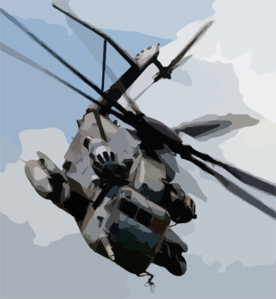 A Ch-53e  Sea Stallion  Assigned To The  Heavy Haulers  Of Helicopter Light Squadron Four Six Two (hmh-462) Takes Off To Demonstrate An Amphibious Assault. Clip Art