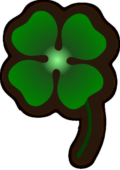 Four Leaf Clover Clip Art at Clker.com - vector clip art online ...