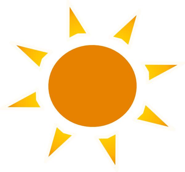 sun logo clip art at clkercom vector clip art online