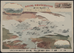 International Naval Rendezvous, Hampton Roads Va.  / Hsp. Clip Art