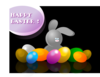 Easter Bunny With Eggs Clip Art
