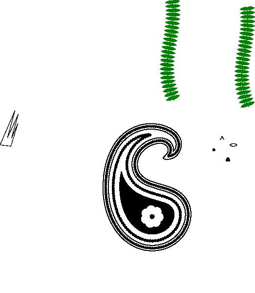 Paisley Clip Art At Clker Com Vector Clip Art Online
