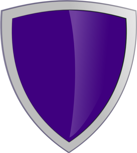 Purple Security Shield Clip Art at Clker.com - vector clip ...