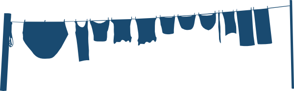 Clothes Line Clip Art ~ Clothesline clip art at clker vector online