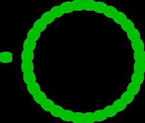 green circular border clip art at clker com vector clip art online rh clker com clipart circle border flower circle border clip art free