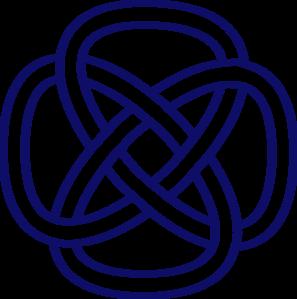 celtic knot navy clip art at clker com vector clip art online rh clker com celtic knot clipart free celtic knot clipart free download