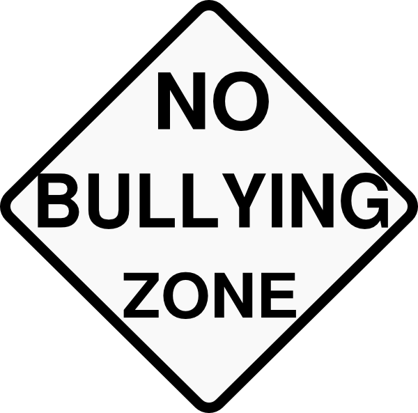 no bullying zone clip art at clkercom vector clip art