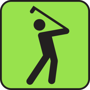 Green Golf Clip Art