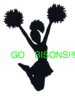 Bison Cheer Clip Art