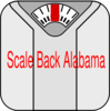 Scale Back Alabama Clip Art