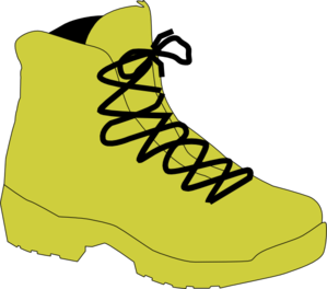 Army Boot Tan Clip Art