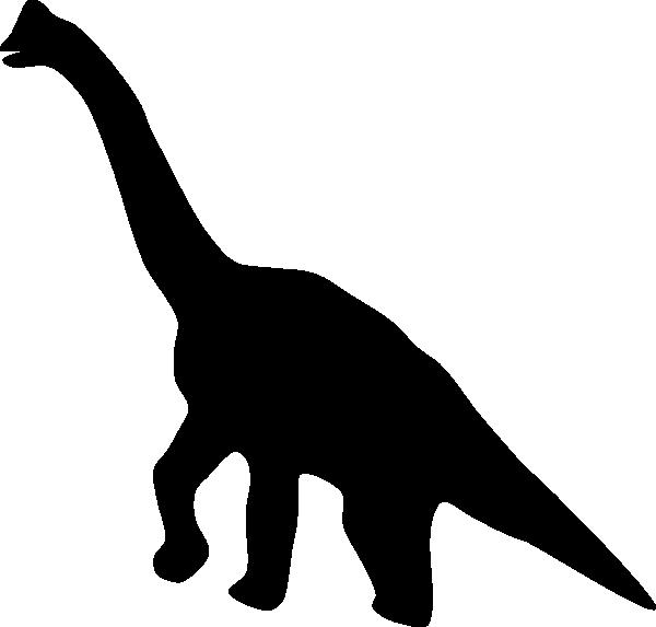 Dinosaurio silhouette clip art