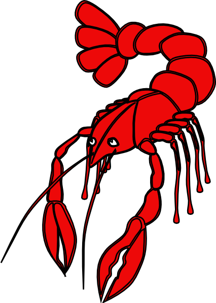 Gallery For > Cartoon Crawfish Clip Art Free
