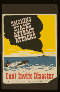 Smoking Stacks Attract Attacks Don T Invite Disaster / Pvp. Clip Art