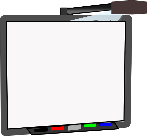 Smart Board Blank Clip Art at Clker.com - vector clip art ...