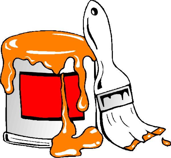 Paint Tin clip art - vector clip art online, royalty free & public ...