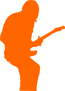 Guitarist Rock Clip Art