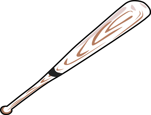free clipart baseball bat - photo #2