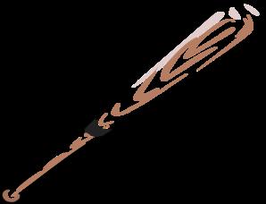baseball bat clip art at clker com vector clip art online royalty rh clker com crossed softball bats clipart softball bat clipart free
