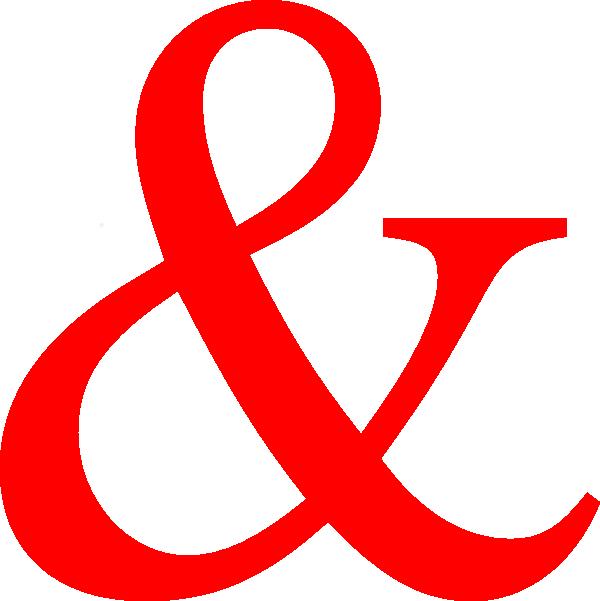 hot pink ampersand clip art at clkercom vector clip art