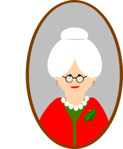 mrs claus clip art at clker com vector clip art online royalty rh clker com mrs. claus clipart images mrs claus kitchen clipart