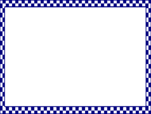 blue boarder