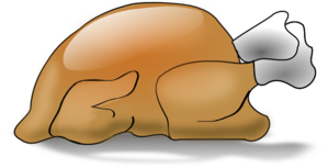 Thanksgiving With Turkey Clip Art